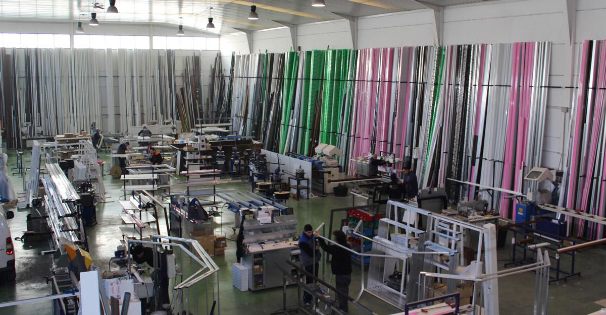 fabrica de aluminio y pvc en madrid